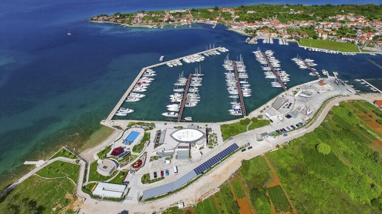 Olive Island Marina: Aerial View