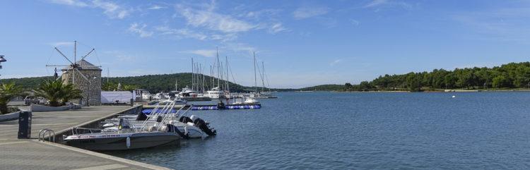 City port of Medulin