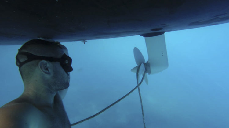 SeaHelp Performance: Remove lines from propeller
