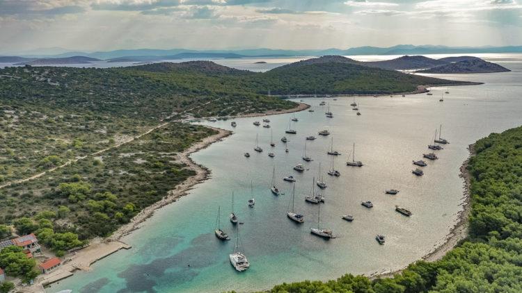 Croatia: Uvala Stupica Vela island Zirje