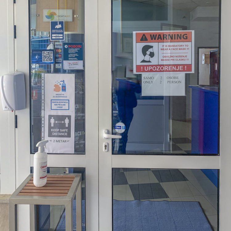 Update Travel Warning: ACI Marina Pula (Istria, Croatia) Safety Instructions