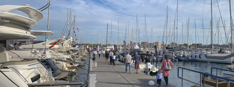 22nd Biograd Boat Show in Croatia: with high security against the coronavirus