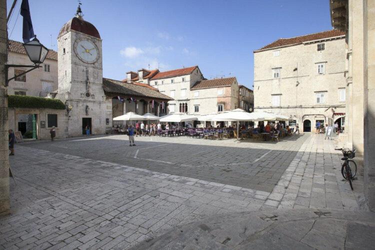 Clock tower Trogir Old Town