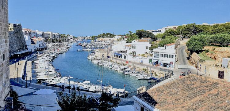 Menorca cruising area - Cruising around the island: The old port of Ciutadel