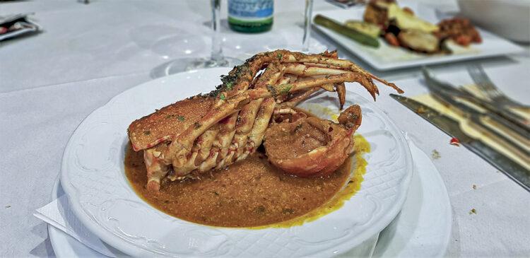 Menorca cruising area - Cruising around the island: cuisine / food in Menorc