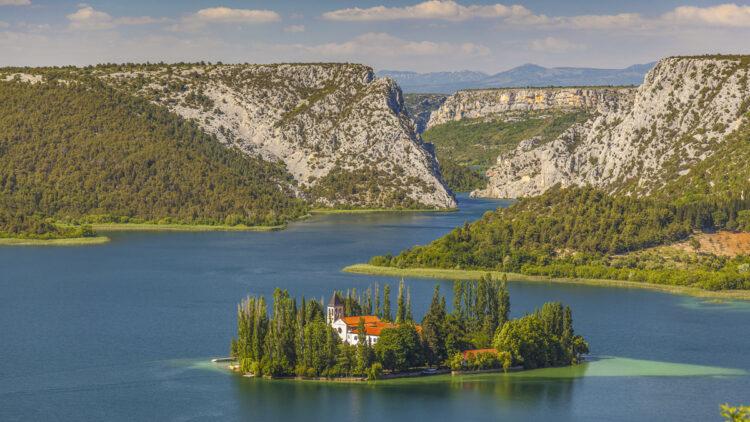 Krka National Park Visovac Island
