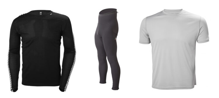 Sailing clothes: oilskins, underwear, yachts from Helly Hansen