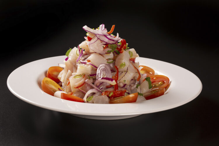 Cooking on board - delicious dishes and recipes: Ceviche
