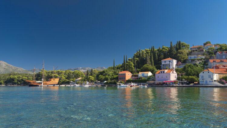 Croatia by yacht: cruise tip Elaphites - Koločep