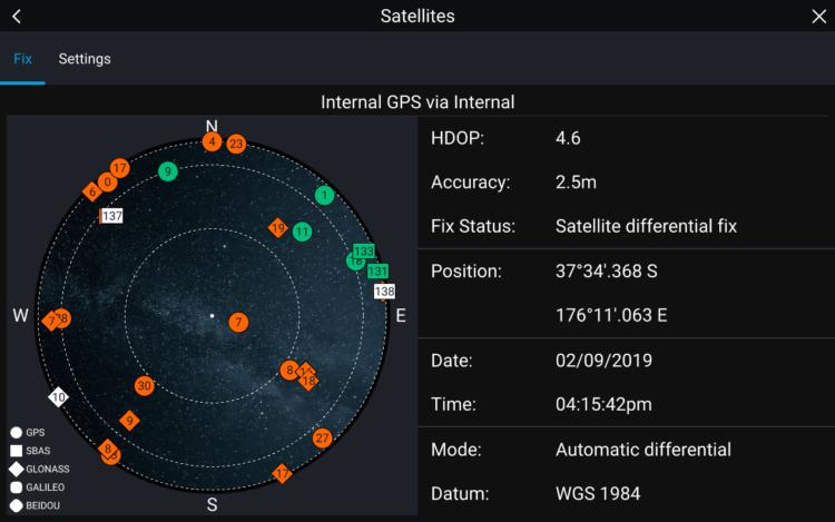 "<span class=""dachzeile"">Satellite Navigation System<span> </span></span>GNSS (Global Navigation Satellite System). 10"