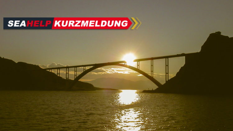 Kroatien: Brücke Insel Krk vom 11.11.2020 bis 12.11.2020 geschlossen