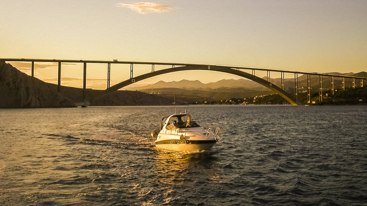 Photo motif: The bridge to the island of Krk