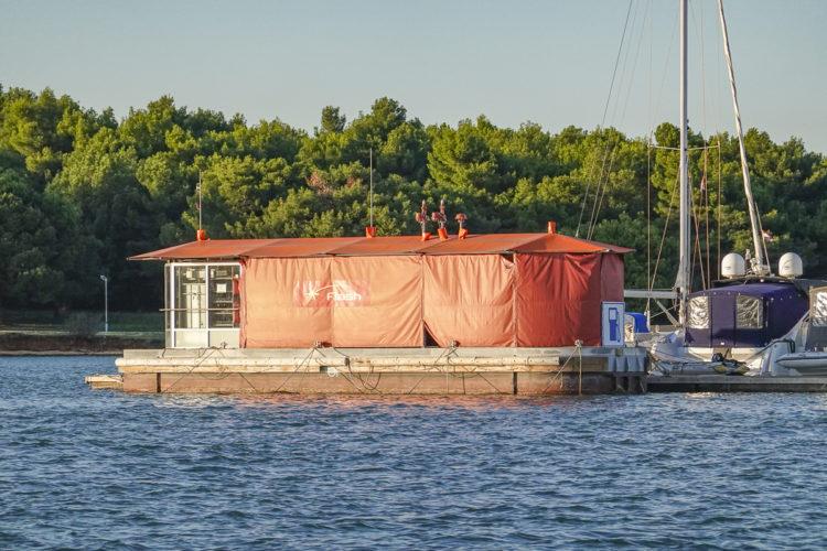Bootstankstellen Kroatien: Insel Krk Flash und Ina Bootstankstelle geschlossen