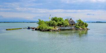 Italien - Obere Adria: Eiland in der Lagune von Grado