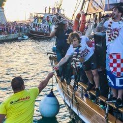 Heimkehr der kroatischen WM-Helden