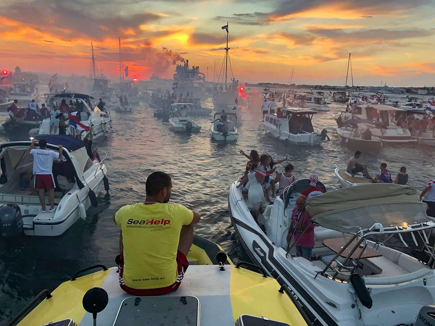 Weltmeister der Herzen legten in Zadar an