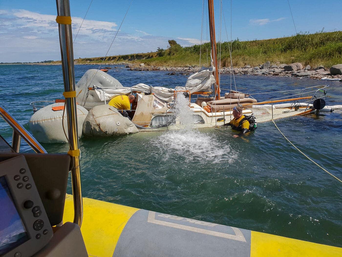 Successful salvage off Heiligenhafen