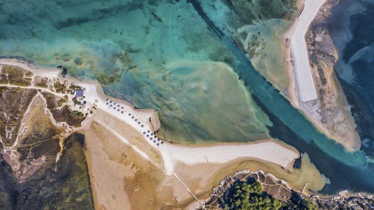 Strand / Sandstrand Tipps Kroatien für Segler: Queen's Beach Nin