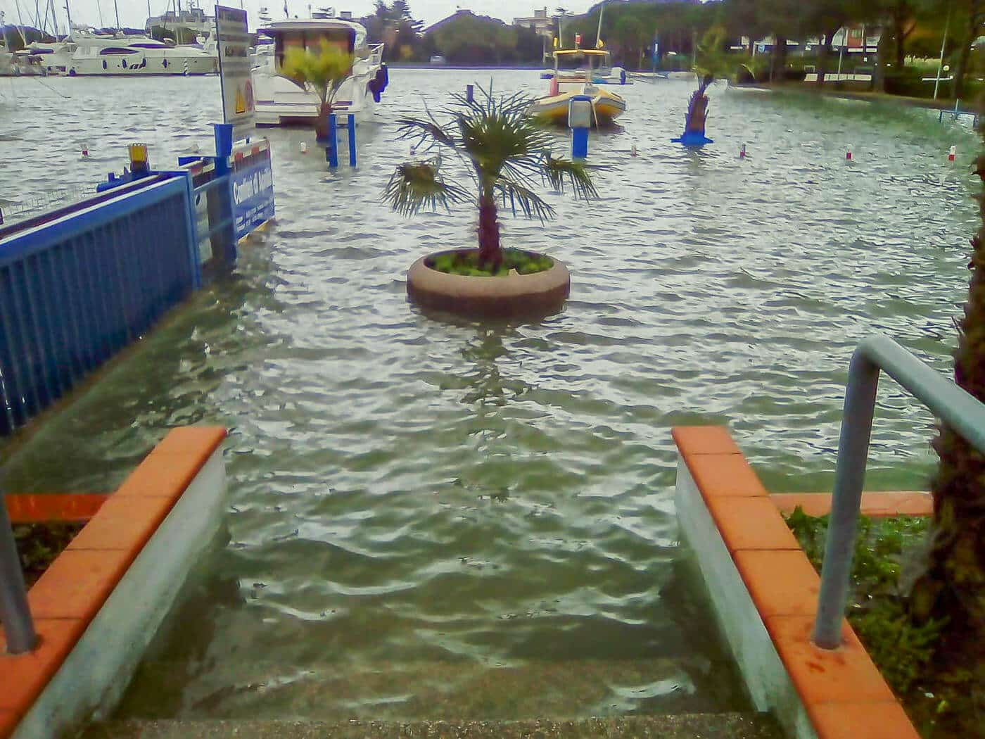 Storm of the century in Croatia and Italy: Marinas flooded – boats damaged
