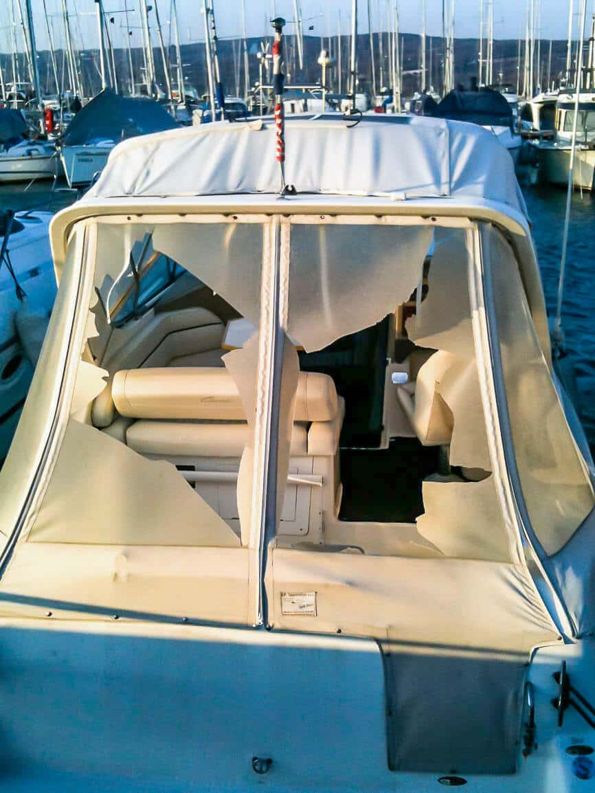 SeaHelp tips for storm damage to your boat or yacht