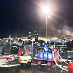 Major fire on the grounds of Marina Punat 2019 picture 3