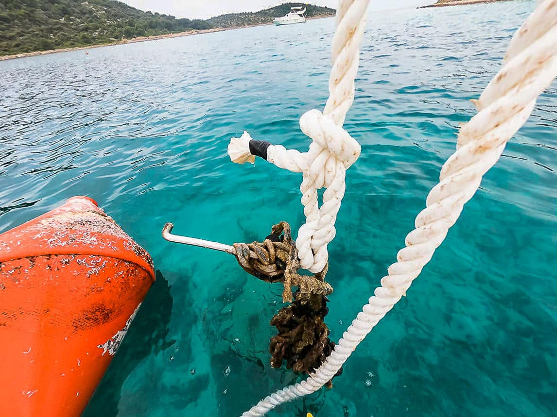 SeaHelp tip: check anchor buoys