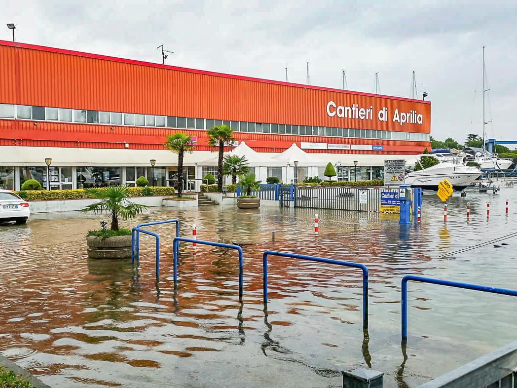 Italien - Lignano Hochwasser 13.11.2019