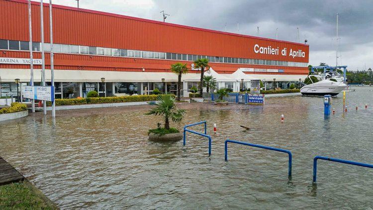 Italien - Lignano Hochwasser Update: 15.11.2019