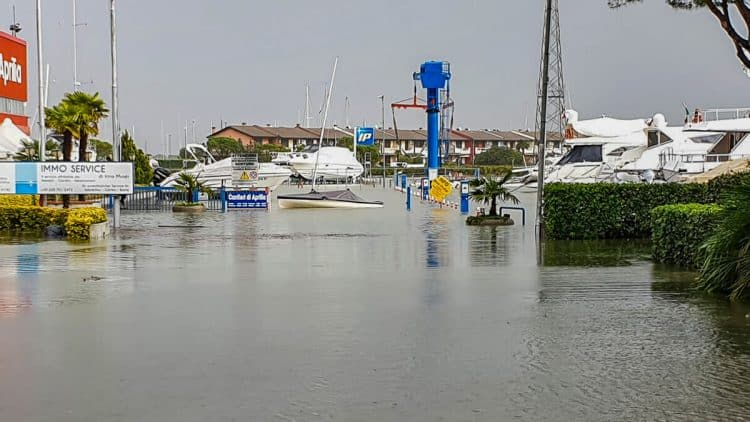 Italien - Lignano Hochwasser Update: 17.11.2019