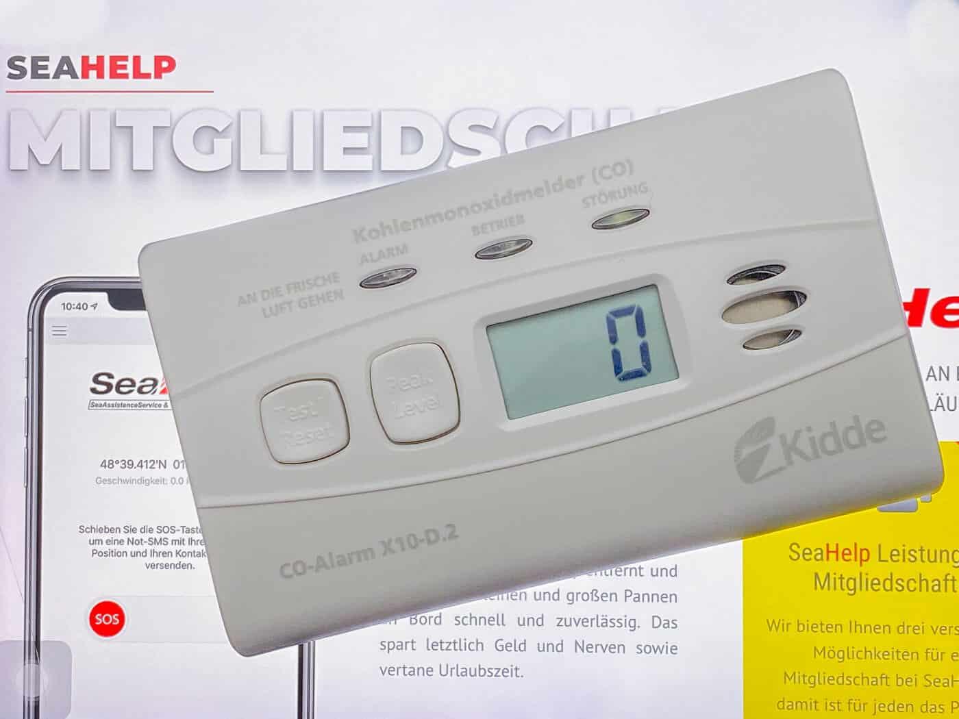 Kohlenmonoxidmelder Kidde Modell: X10