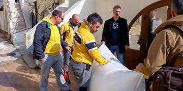 BRS - Boat Rescue System demonstration