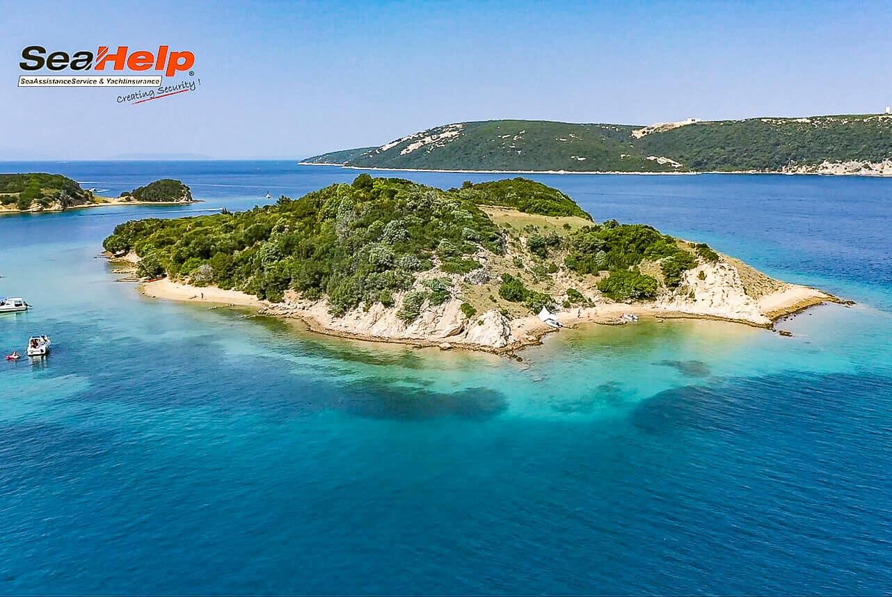 Insel Sailovac – einfach mal die Seele baumeln lassen