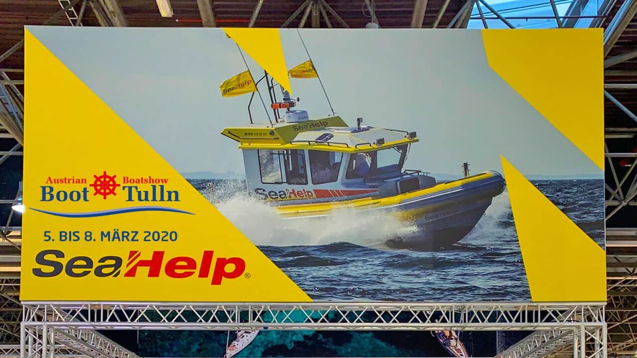 SeaHelp - Austrian Boat Show - BOAT TULLN 2020