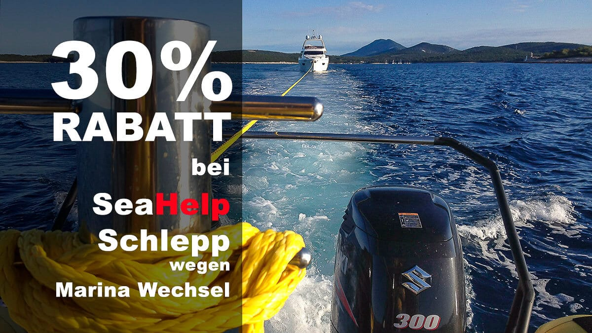 "Additional 30% ""corona discount"" for SeaHelp towage due to marina change"