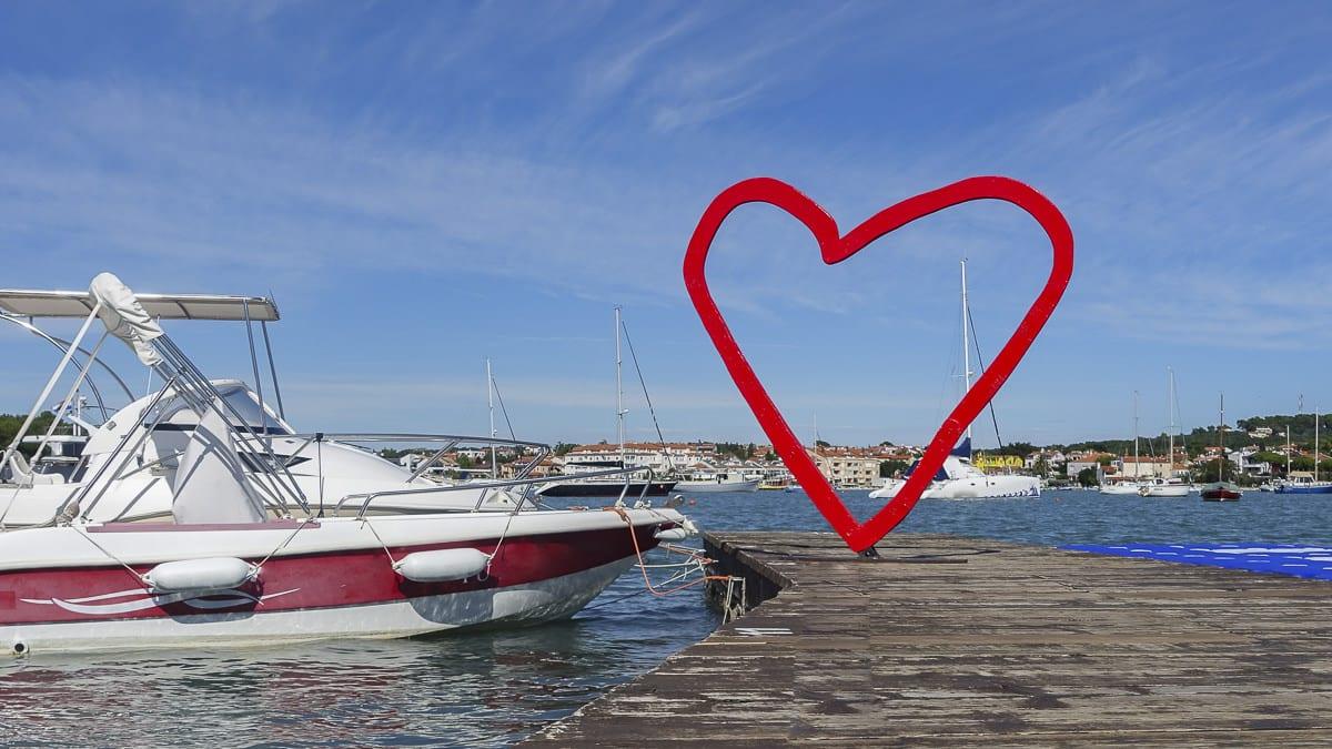 Kroatien: Ein Herz für Skpper