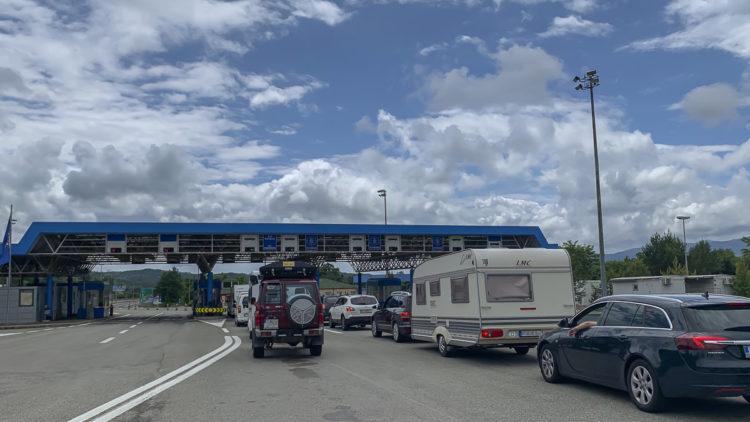 Stau an der Grenze Kroatien vermeiden durch Vorabregistrierung (entercroatia.hr)