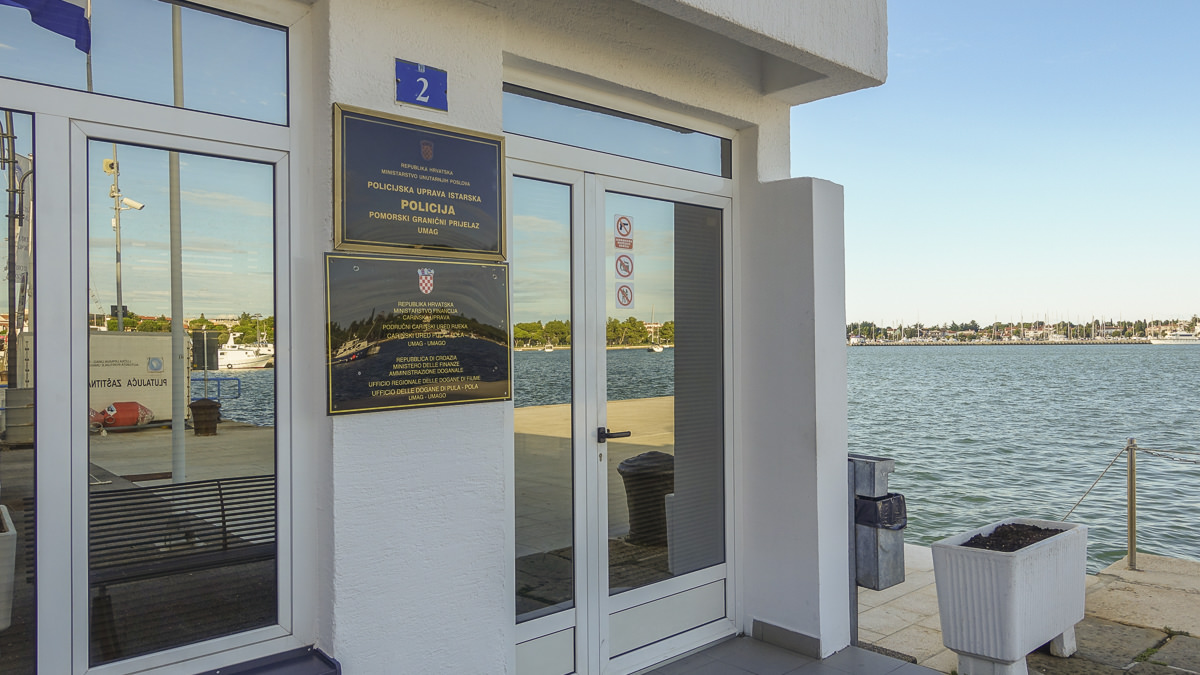 Kroatien Einreise auf dem Seeweg - Port of Entry