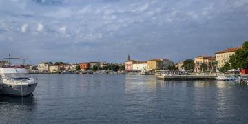 Urlaub Kroatien - Porec wenig Urlauber
