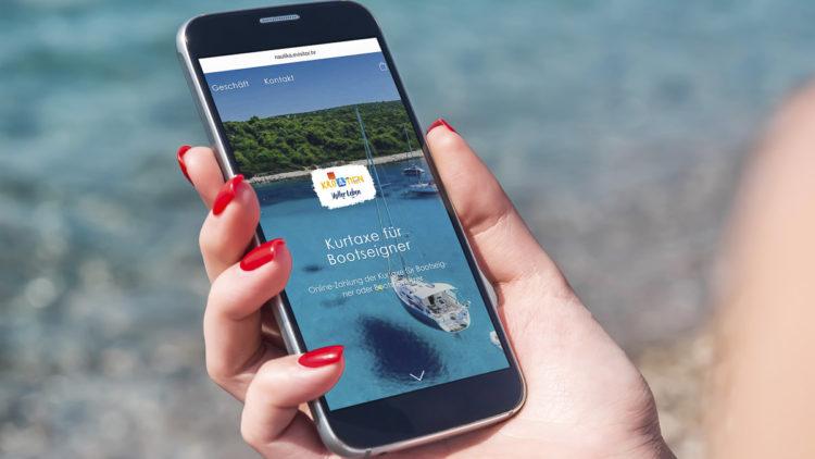 Kurtaxe Kroatien: neues Portal nautika.evisitor.hr