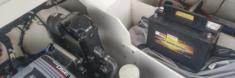 SeaHelp Ersatzteil Service: Wenn Starthilfe (jump start) nicht mehr möglich sind, liefern wir auch eine Batterie.