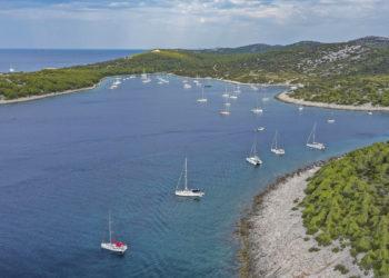 Kroatien: Insel Zirje, Uvala Stupica Vela