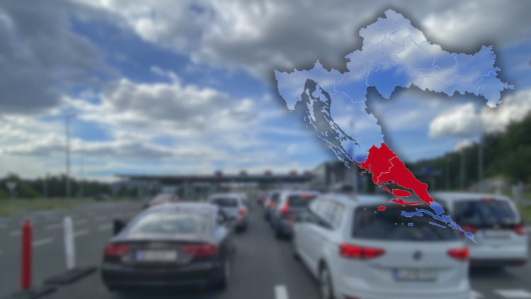 Reisewarnung für die Region Split und Sibenik in Kroatien aus Deutschland wegen hoher Covid-19 Neuinfektionen