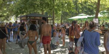 Reisewarnung Kroatien: Urlaub eng gedrängt bei den Krka Wasserfällen