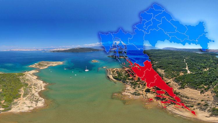 Travel warning Croatia for the region Dubrovnik from Germany (Coronavirus)