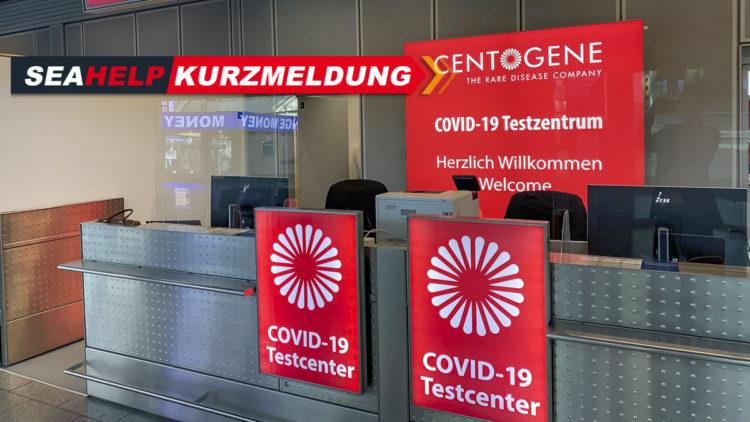 Coronavirus antigen test: Lufthansa flights