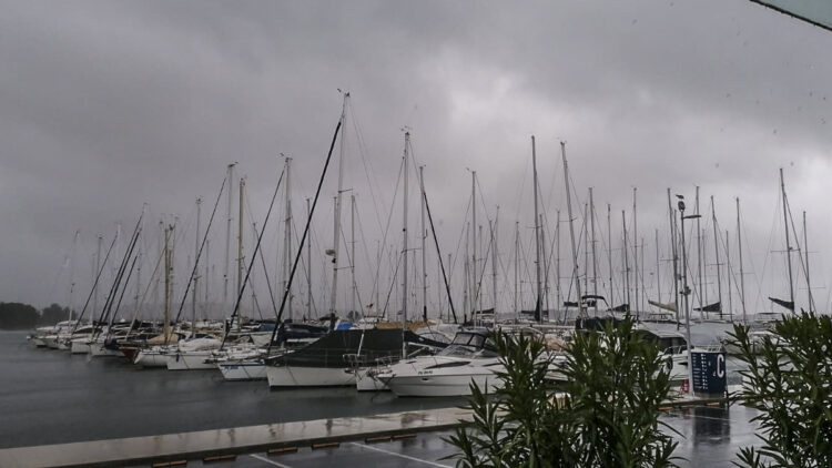Strongest Jugo for five years in Croatia: Storm Storm in Istria and Kvarner