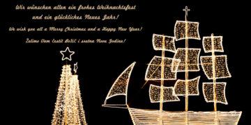 Frohe Weihnacht und einen guten Rutsch ins neue Jahr wünscht Ihnen das Team von SeaHelp.