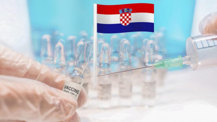 Start coronavirus Covid-19 vaccination in Croatia