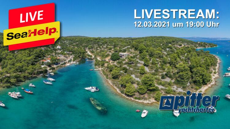 SeaHelp Livestream Topics: Croatia vacation, entry, quarantine and yacht charter
