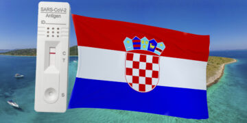 01 April 2021: Entry Croatia possible with antigen test